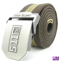 2013 Free shipping 511 military and army belts canvas belt with 18 differents colors for Jeans