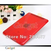 For ipad mini TPU Case X Line TPU Gel Skin case 200pcs/lot