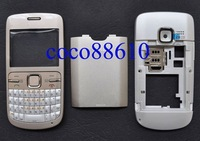 Brand New Complete Full Housing Cover Case For Nokia C3 C3-00 +Free Shipping