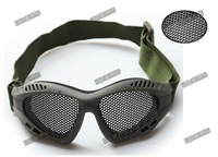 Hot Protective Net Glasses Airsoft Goggles CS Protective Glasses Tactical Glasses Eye Protect(NG-01-BK)