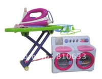 Free shipping 2012 new plastic product children toys online shop iron toys music electric washing machine toys