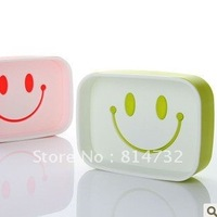 Smiling face double soap box