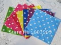 CHOOSE YOUR COLOR - 8 colors  x  400 Assorted Polka Dots Dotted Spotty DOTTY  polkadot white dot paper Napkins Serviettes