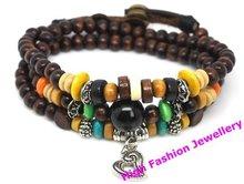 wholesale wooden bead jewelry