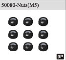 50080 Nuts(M4) *9P 1/5 gas power off-road/off-buggy car parts 94050/94051/94053/94054(China (Mainland))