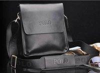 Men's POLO composite Leather Messenger Briefcase Satchel shoulder bag
