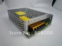 12V 6A 72W led strip switching power supply transformer adapter metal box coonect 5m 5050 60led strip free shipping