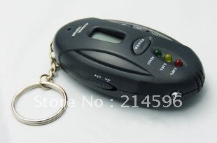 Free Shipping  Alcohol Tester Hight Quality Portable Alcohol Breath Tester