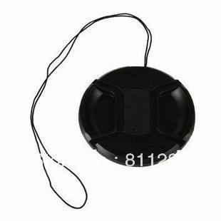 Free Shipping, 58mm center pinch Snap-on cap cover for Canon Nikon Sony 58 mm Lens(China (Mainland))