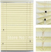 50mm Aluminum Venetian Blinds 0.18mm thickness slats custom made blinds