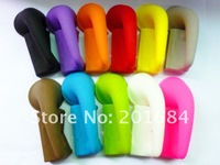 Colorful Portable Silicon Horn Stand Speaker Amplifier for iphone 5 5G 100pcs/lot
