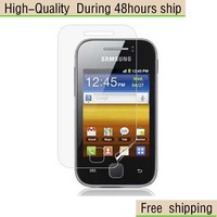 New Clear Screen Protector For Samsung S5360 Galaxy Y  Free Shipping DHL UPS EMS HKPAM CPAM
