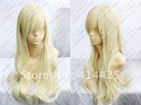 Hot Sell! Kashiwazaki Sena Long Light Blonde Cosplay Wavy Wig