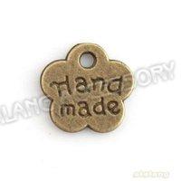 New Fashion Flower Shape Charms Pendant 750pcs/lot Antique Bronze Plated Zinc Alloy Pendant  Fit Necklace Jewelry DIY 143581
