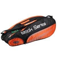 Nylon senior waterproof multi-function 12 branch loading double shoulder badminton pack 9101