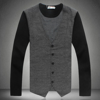 Мужской пуловер DXM115 New Brand Fashion Winter Man's Sweaters, Male Boutique Good Quality Cardigan, Mens Knitwear, Cashmere Sweater