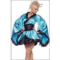 Dance Club  ,Cosplay Dress !!!  Sexy  Kimono (Skirt + belt + T pants) ---8013