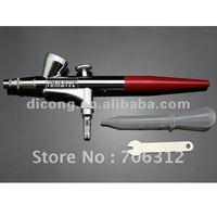New 0.4mm Spray SINGLE ACTION Makeup Airbrush Kit Gun