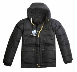Men&#39;s padded coat 100% GOOSE DOWN PARKA WARM jacket WINTER OVERCOAT,Sweden flag parka.Sweden brand parka.On sale! FJALL(China (Mainland))