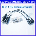 DHL/EMS/CPAM Option,18 in 1 RC Heli Flight Car Simulator Cable G6 Networking PX4.0/3.0 G5.5/G5,XTR,FMS,AeroFly,VRC2 F02107