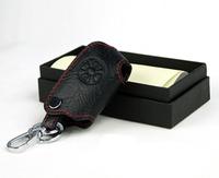 TOYOTA rav4 yaris car key wallet cover keyrings key holders key bags keychain genuine leather car accessories Free shipping
