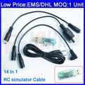 DHL/EMS/CPAM Option,14 in 1 RC simulator Cable RealFlight G5.5/G5/G4.5,Phoenix 3.0/2.5,Reflex XTR AeroFly 5.5,VRC2,FMS F02049