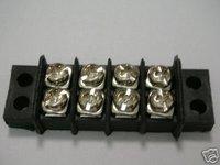 8 Dual 4 Position Terminal Blocks barrier  32A 450V 9.5mm