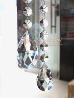 38mm Crystal Pendant,Angel Tear Drop shape crystal, 100pcs/lot, DIY garland material, wedding decoration, free shipping CBP11