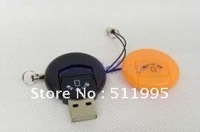 Free Shipping Round Button USB Card Reader