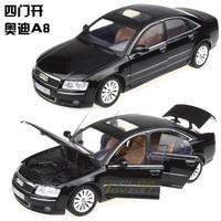 MOTORMAX 1:18 AUDI A8 Alloy car model Black
