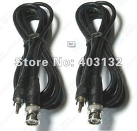 2x 2m BNC Male to RCA Male cctv Cable for cctv camera F60