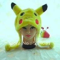 Christmas WINTER cap cosplay Beanies/ hat / many styles cartoon hats Anime Pokemon Pikachu performances props Plush Fashion hat