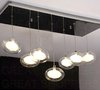 New Modern 7 Lights Glass LED Ceiling Light Fixture,E064