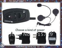 3 pcs a lot Bluetooth Helmet Intercom, 500M bluetooth motorcycle Headset Free shipping! the Factory price