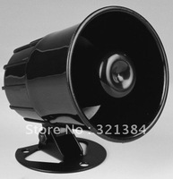 Free shipping Wired 12V DC SIREN SPEAKER MICROPHONE for DVR F07
