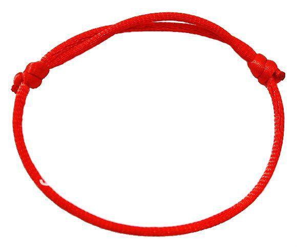 Красный браслет своими руками