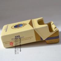 Jingdezhen ceramic crafts decoration birthday gift male 555 ceramic cigarette case ashtray