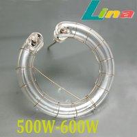 500W - 600W Flash Light  Ring Tube Lamp Bulb 5500K 220V Flashtube For Photo Studio Strobe Flashlight Lighting