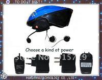 Free Shipping By DHL UPS EMS wireless communication Bluetooth Motorcycle 100m Talking Range Helmet Intercom 10PCS A lots
