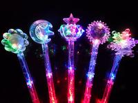 Christmas gift glow stick,flashing lighting flash sticks festival ,colors mixed party luminous stick magic wand child toy