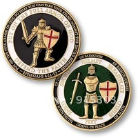 Newest Best Selling Hot Selling High Quality U.S. Armed Forces Armor of God Coin