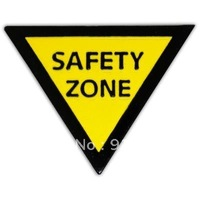 Newest Best Selling Hot Selling High Quality Safety Zone Lapel Pin