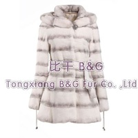 BG22241 Newest 2013 Genuine Sheared Rex Rabbit Fur Coat With Hood Russian Plus Size Style OEM Wholesale/Retail