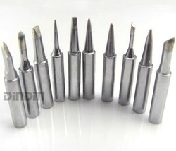 12 pcs /lot Lead-free solder Iron tip 900M-T-B/I/K/1C/2C/3C/4C/0.8D/1.2D/1.6D/2.4D/3.2D for hakko soldering rework station(China (Mainland))