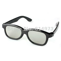 5pcs/lot metal frame ABS frame Circular Polarized 3D Glasses for Real D & Master Image System 3D TV Free Shipping