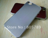 free shipping 10pcs a lot Electroplating drawing mobile phone case for iphoe 5
