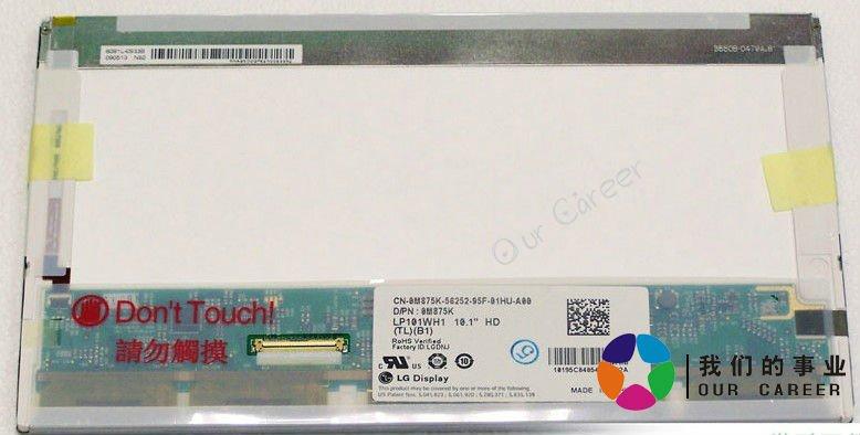 ЖК-экран для ноутбука + LP101WH1 TLB1 CLAA101WA01A 1366 * 768 HSD100IFW1 жк экран для ноутбука n116bge l11 11 6 n116bge l11 1366 768