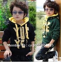 100% Cotton Infant Sweaters Knitting Baby Boy's Cardigan Coat V-neck Striped 4pcs/lot wholesale free shipping