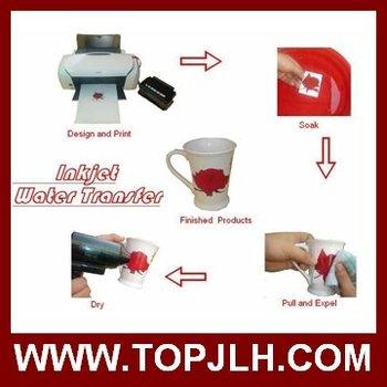 Water transfer printing paper for inkjet printer