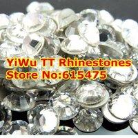SS16 Crystal color 1440pcs Non Hotfix Rhinestones 3.8mm 16ss crystal flatback Nail Art Rhinestones